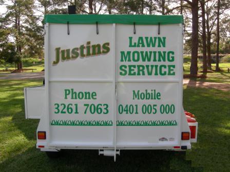 Justin's trailer